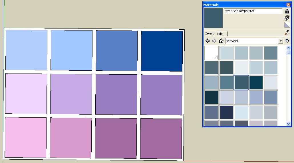 Paletas de colores sherwin williams consejos sketchup - Paleta de colores pared ...